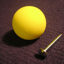 Clubs - Ball and screw