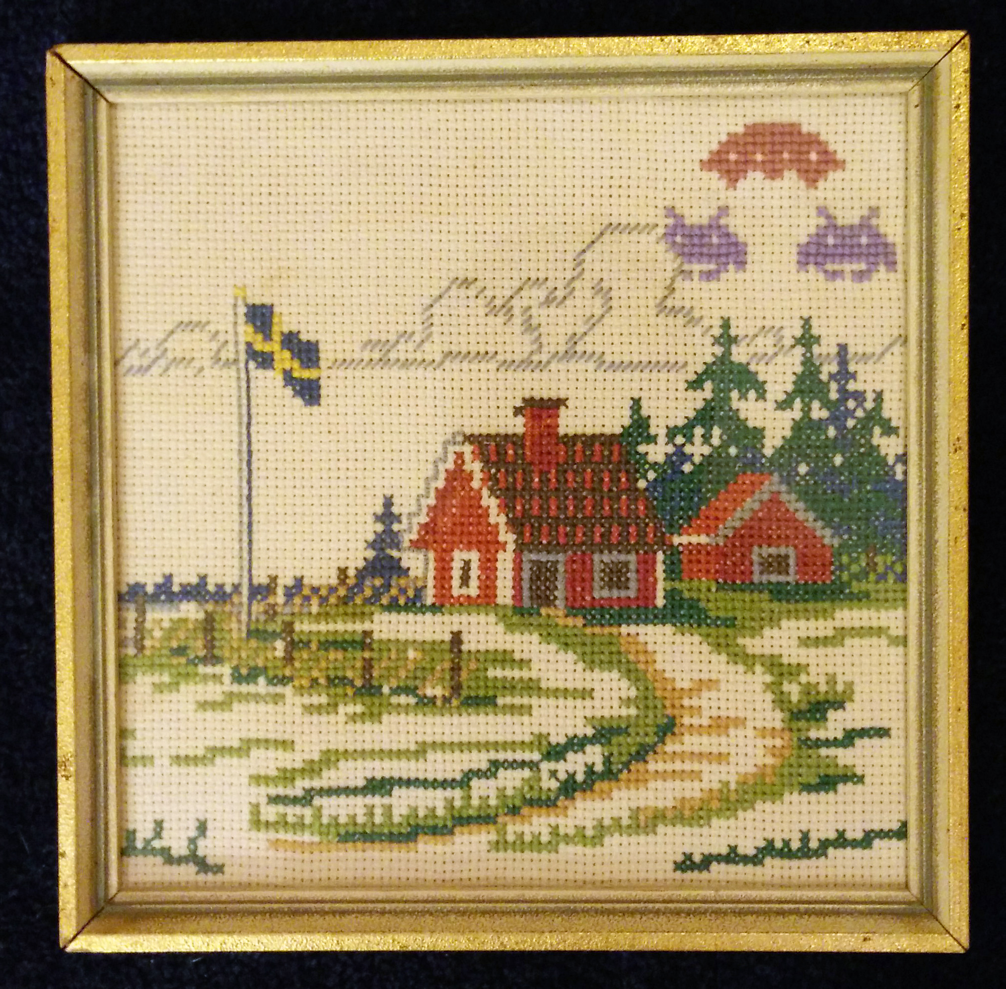 Cross Stitch Upcycling – Johan Ronström
